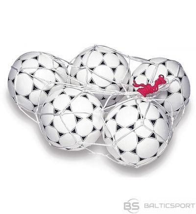 Rucanor Ball carry net 5 ball white