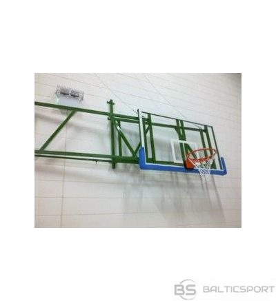 Salokāma basketbola sienas konstrukcija -projekcija 0,6-1,25 m