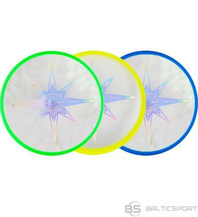 Talerz Frisbee Aerobie Skylighter 3 kol zielony żółty niebieski 6046475