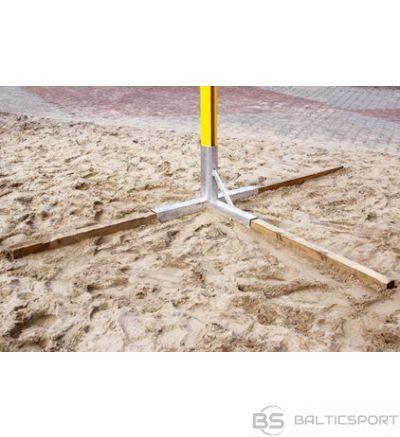 Pēda statīvs pludmales volejbola stabiem