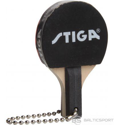 Stiga Breloks Super Minibat ( mini galda tenisa rakete ) – Black/Red