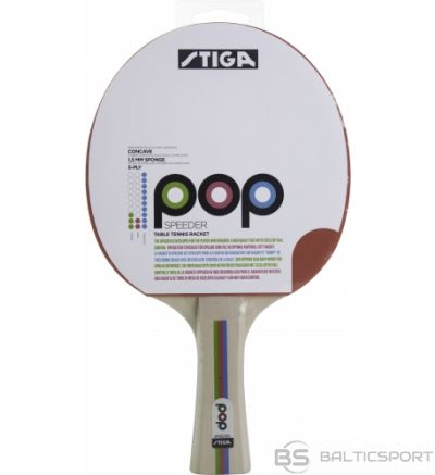 Stiga POP Speeder galda tenisa rakete