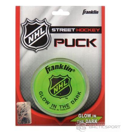 Franklin Glown In The Dark Streethockey Puck hokeja spēlētāja ielas ripa (12226)