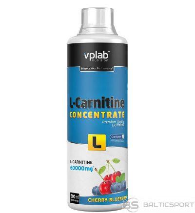 VPLab L-Carnitine Concentrate 500 ml - Ķiršu-Melleņu / 500 ml