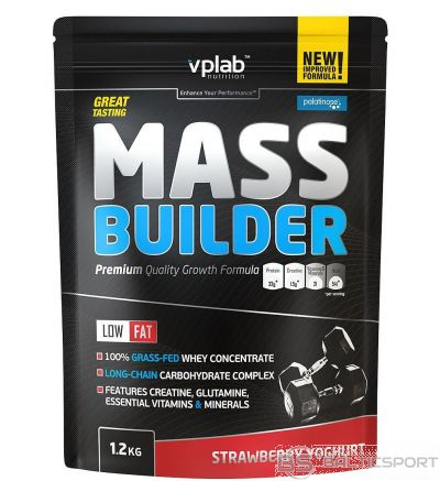 VPLab Mass Builder 1.2 kg - Zemeņu jogurta / 1,2 kg