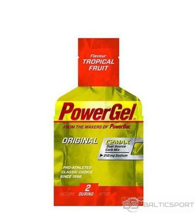 PowerBar PowerGel 41 g - Tropisko augļu / 41 g