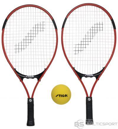 Stiga Mini Tenisa komplekts (2rak.+soft ball bumbiņa, somiņa un tīkls)
