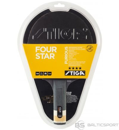 Stiga Furious 4* (straight) galda tenisa rakete