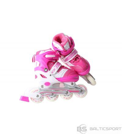 Bērnu regulējamās skrituļslidas Street Runnder Pink