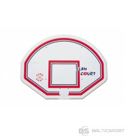 Basketbola vairogs 120 x 90cm plastikāta