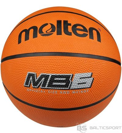 Basketball ball MOLTEN MB6 for training, rubber