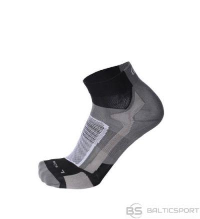 Mico Professional Running Sock Light / Melna / Pelēka / 44-46