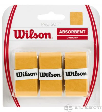 Wilson PRO SOFT OVERGRIP gold 3gb./iep.
