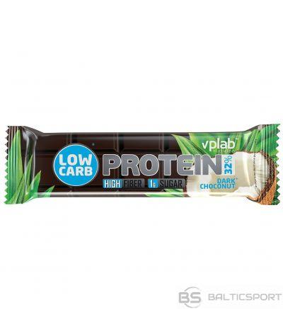VPLab Low Carb Protein Bar 35 g - Kokosriekstu-tumšās šokolādes / 35 g