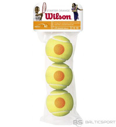 WILSON STARTER ORANGE BALLS ( 3 gb. )