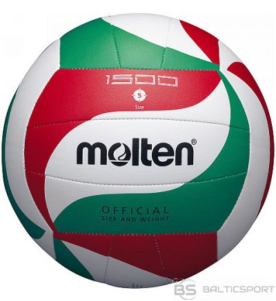Volleyball MOLTEN V5M1500 for training, synth. Leather