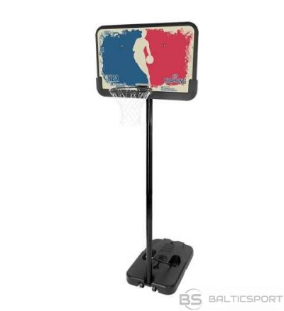 Spalding Basketbola, strītbola groza konstrukcija NBA LOGOMAN PORTABLE