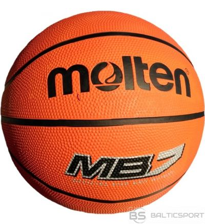 Basketball ball MOLTEN MB7 for training, rubber