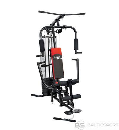 CHRISTOPEIT SPORT fitmesa stacija  SP 10 with  45 kg weights de Luxe Black