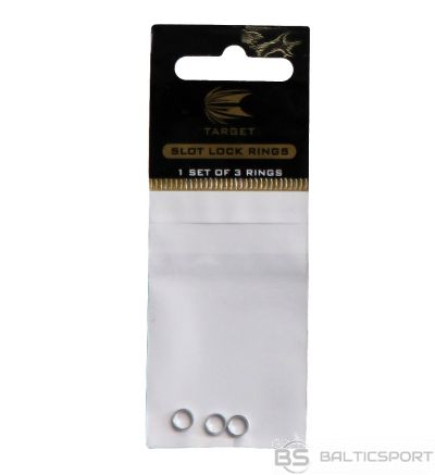 Rezerves daļa Target Slot Lock Ring Silver 108101 / srebrny /