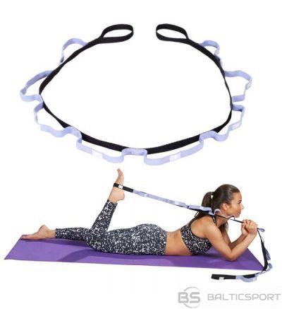 Trendy Yoga Presilha auduma stiepšanās lenta ar cilpām