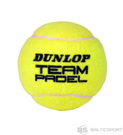 Padel tennis balls DUNLOP TEAM  3pet