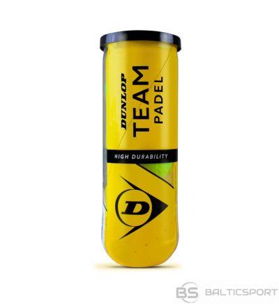 Padel tennis balls DUNLOP TEAM  3pet