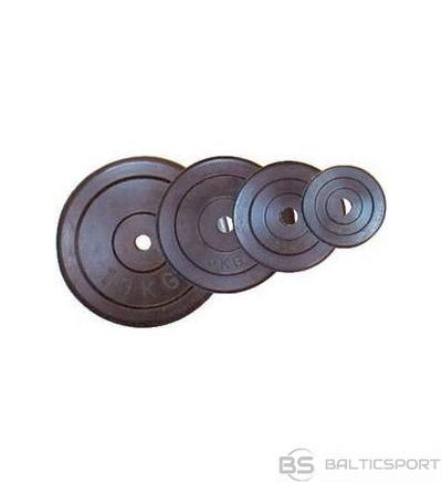 Gumijas svarcelšanas disks 2.5kg, dm 30mm