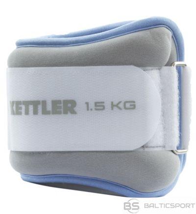 Ankle weights KETTLER 7361-460 2x1,5kg l.blue/grey