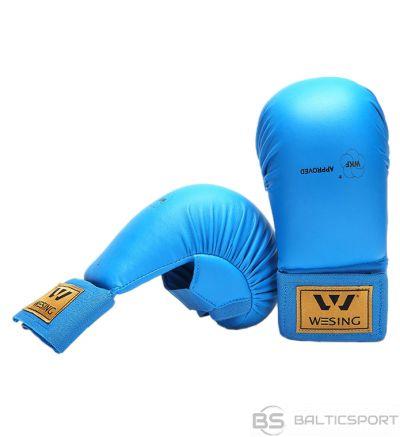 WESING Karate gloves WKF L blue