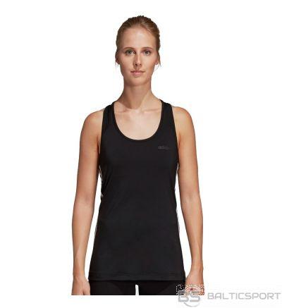 T-krekls adidas W D2M 3S Tank DU2056 / Melna / XL