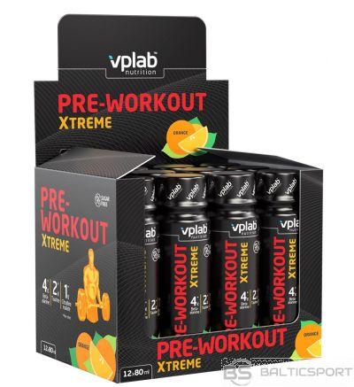Vplab Pre-Workout Xtreme shot 12 x 80 ml (kaste)