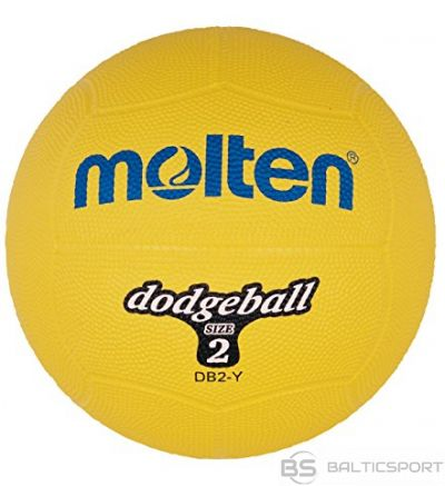 Dodgeball ball MOLTEN DB2-Y, yellow 310g