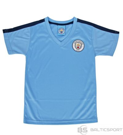 Sportech Manchester City t-krekls ir licencēts / Zila / M
