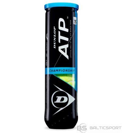 Tennis balls DUNLOP ATP CHAMPIONSHIP 4-tube