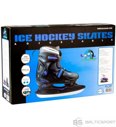 Regulējama izmēra slidas Nijdam 34-37/ adjustable skates Nijdam