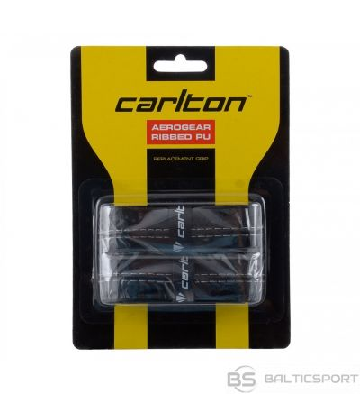 Badminton racket replacement CARLTON AEROGEAR RIBBED 2 psc black