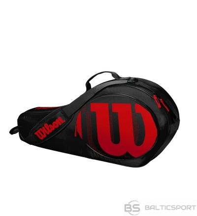 Wilson JUNIOR 3 PACK BLACK/INFRARED