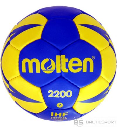 Handball ball training MOLTEN H1X2200-BY synth. leather, size 1