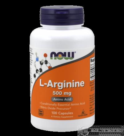 Now Foods L-Arginine 500