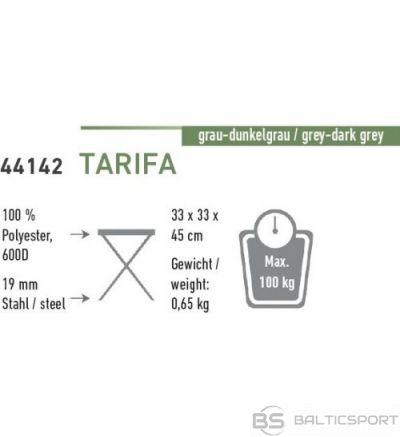 High Peak Tarifa 3-Leg Stool saliekamais tērauda krēsls/trijkājis (44142)