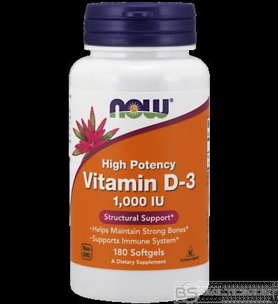 Now Foods Vitamin  D3 1000 IU