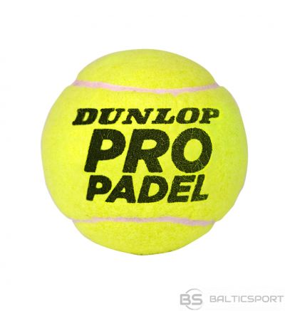DUNLOP PRO Padel 3-tin Official Ball of competitions