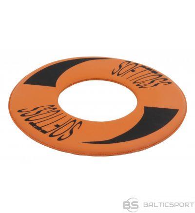 Frīsbija disks no putu materiāla ar PVC pārkājumu