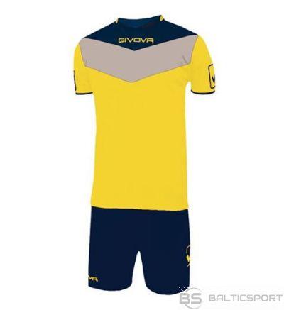 Givova Kit Campo futbola forma - dzeltens ar tumši zilu