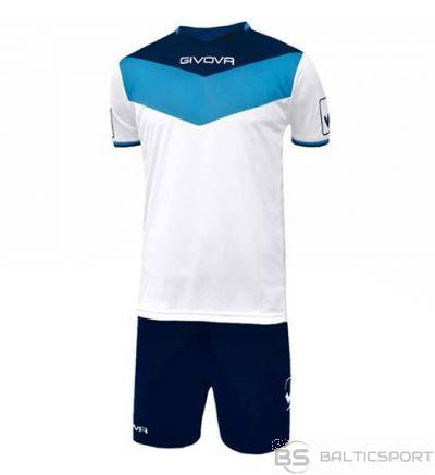 Givova Kit Campo futbola forma - zils ar baltu un tumši zilu