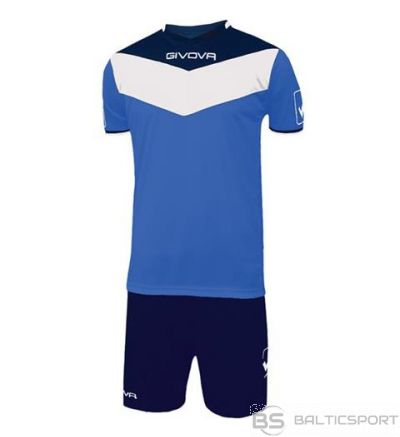 Givova Kit Campo futbola forma - zila ar tumši zilu