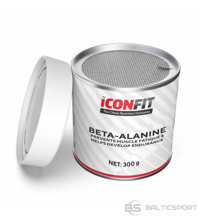 ICONFIT  Beta-alanīns, aminoskabes (300g) Beta-Alanine