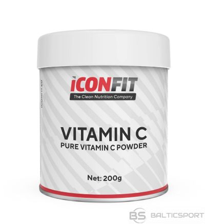 ICONFIT C vitamīna pulveris (200g) Vitamin C Powder, pure