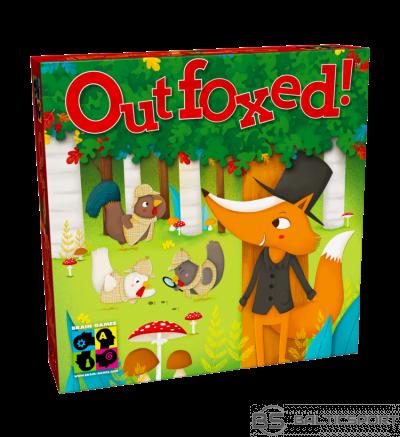 Outfoxed galda spēle visai ģimenei